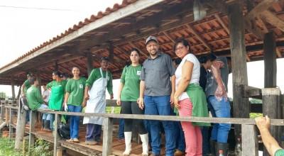 Produtores rurais de Rolim de Moura concluíram curso teórico e prático de inseminação artificial em bovinos leiteiros