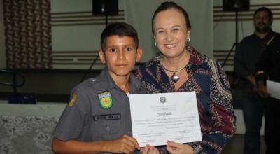 Projeto Policia Mirim em Rolim de Moura conta com apoio da Secretaria Municipal de Assistência Social
