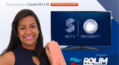 Rolim: Novidade na Comunicação Sic TV e StudioMaxTV – MELHOR PARA VOCÊ