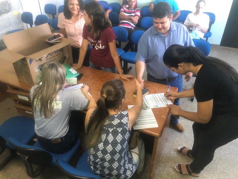 Vice-prefeito Fabricio Melo participa da abertura dos cursos de Assistente Administrativo e de Auxiliar Veterinário para produtores rurais