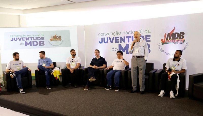 Convenção Nacional do MDB reúne núcleos partidários em Brasília
