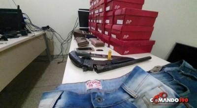 Em Ji-Paraná, PM age rápido e prende quadrilha que assaltou residência em Presidente Médici – VÍDEO