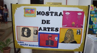 Escola Balão Mágico de Rolim  realiza  primeira Mostra de Arte e  leilão das artes