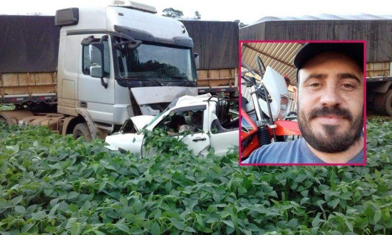 Identificado   Vilhenense morre após colidir de frente com carreta na BR-174 há 30 quilômetros de Vilhena