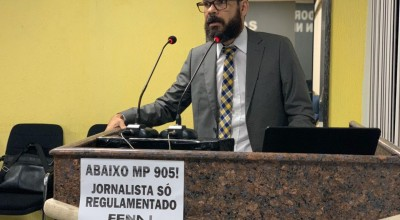 Jornalistas rondonienses se unem contra MP 905