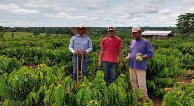 Mais produtores de Rolim recebem assistência técnica da Secretaria municipal de agricultura