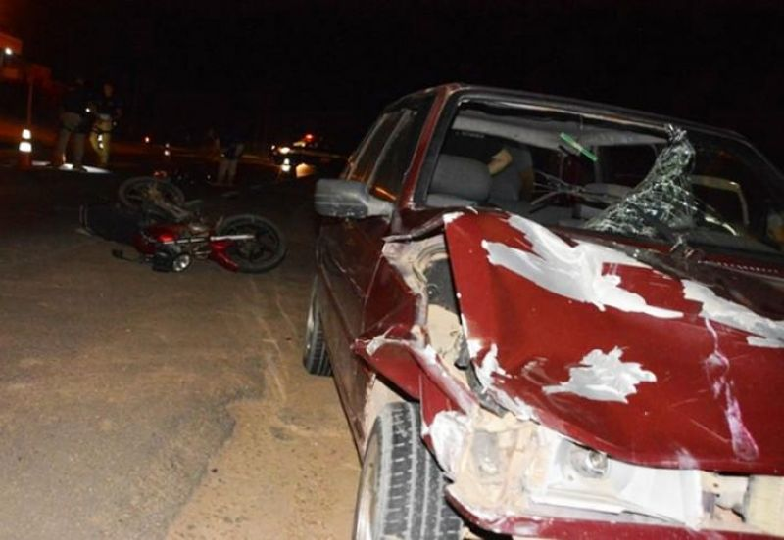 Motorista bêbado atropela e mata motociclista