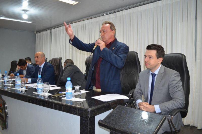 Prefeito e vice-prefeito de Rolim de Moura participam de audiência pública da Energisa