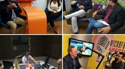 Prefeito Luizão do Trento participa de vários programas jornalísticos