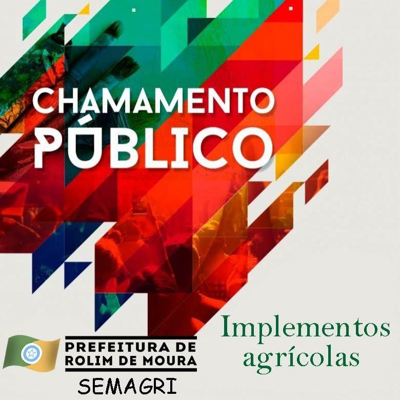 Prefeitura de Rolim de Moura realiza chamamento público