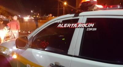 Rolim de Moura – Adolescente conduzindo motocicleta atinge outra moto na Avenida São Paulo e uma pessoa é encaminhada ao pronto-socorro - Vídeo
