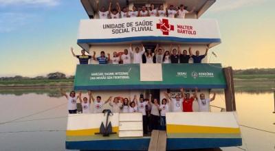 Senador Confúcio Moura divulga recursos de custeio para a saúde em Rondônia