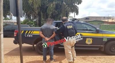 Suspeito de homicídio em Pimenta Bueno é preso ao ser reconhecido enquanto almoçava no terminal rodoviário