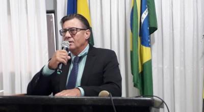 Vereador Francisco Venturini agradece Presidente da Assembleia por liberar recursos para infra estrutura em Rolim de Moura
