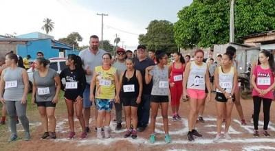 Amarelinhos de Rolim participam da corrida de São Sebastião em Costa Marques