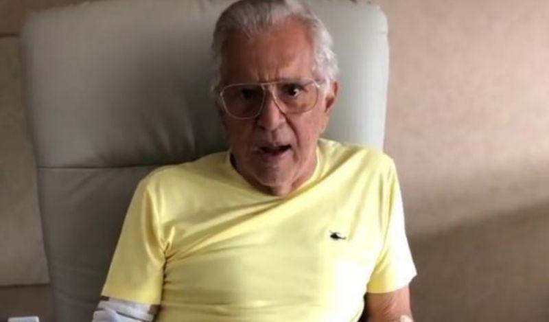 Carlos Alberto de Nóbrega revela infecção na próstata