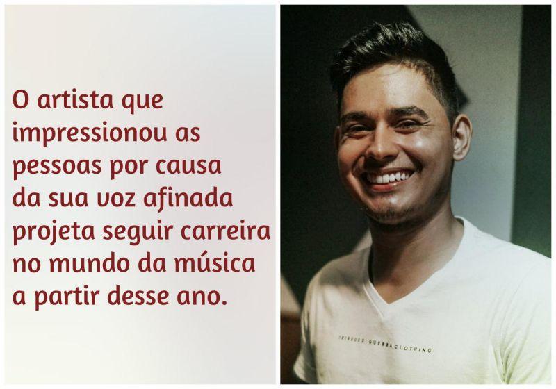 Conheça a história de Jhames Garcia, cantor revelação de Rondônia