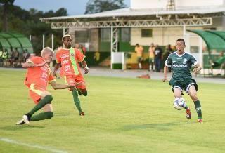 Em jogo amistoso Guaporé perde em Lucas do Rio Verde