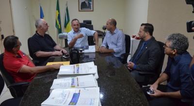 Prefeito Luizão do Trento solicita emendas no valor de 2 milhões de reais para deputado Mauro Nazif