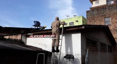 Rolim de Moura – Incêndio atinge depósito de loja de calçados no Centro da cidade - Vídeo