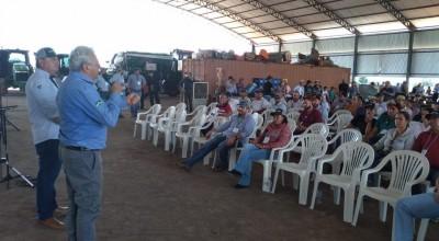 Vice-governador José Jodan e secretário estadual de Agricultura Padovani participam do Circuito Tecnológico AMAGGI