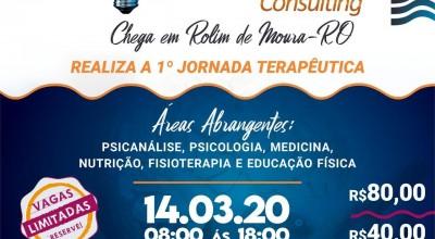 1° jornada terapêutica acontece dia 14 de março em Rolim De Moura