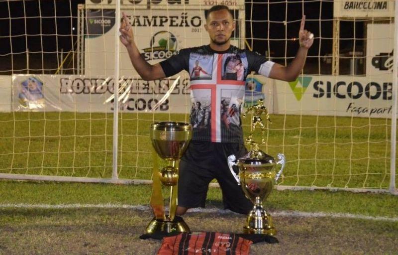 Bi-campeão Rondoniense com Real Ariquemes, goleiro Dida está de volta ao Furacão do Jamari