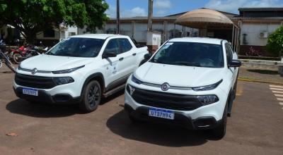 Saúde de Rolim de Moura é contemplada com duas camionetes