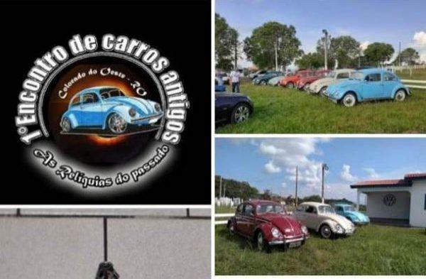 Em março, 1º encontro de carros antigos vai movimentar Colorado do Oeste
