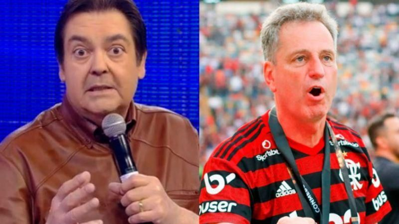 Em nota oficial, Flamengo classifica comentário de Faustão como