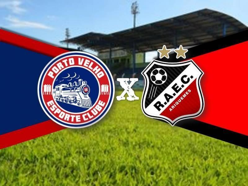 FFER altera local do confronto entre Porto Velho e Real Ariquemes pela quinta rodada do Estadual