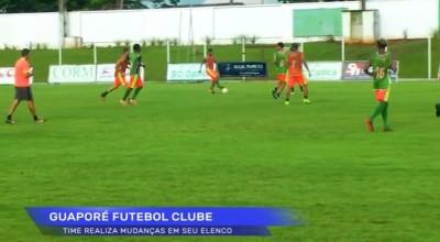 Guaporé de Rolim de Moura se prepara para o próximo jogo contra Ji-Paraná