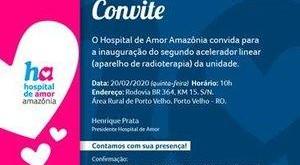 Hospital de Amor Amazônia inaugura novo acelerador linear para radioterapia