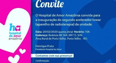 Hospital de Amor inaugura Acelerador Linear na próxima Quinta-feira
