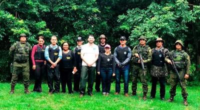 Ministério Público, TJ, Defensoria Pública e PM realizam inspeção em Comunidade de Remanescentes de Quilombolas