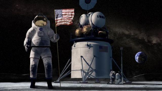 """NASA pousará na Lua """"por qualquer meio necessário"""", diz vice-presidente dos EUA"""