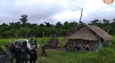 PF detém indígena que ajudava na exploração ilegal de madeira em RO