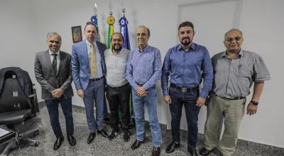 Presidente Laerte Gomes se reúne com Henrique Prata e confirma doação de R$ 4 milhões de recurso da ALE para o Hospital do Amor