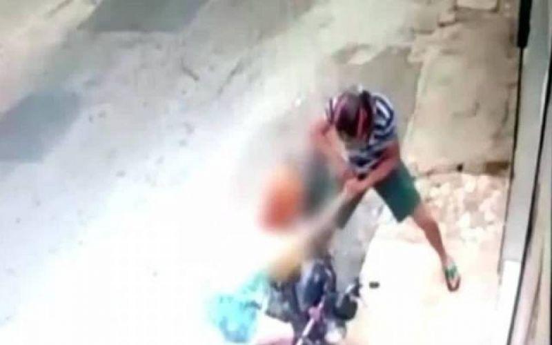 Rendida por assaltantes, que ameaçavam atirar se não ela entregasse moto, mulher perde veículo comprado há um mês