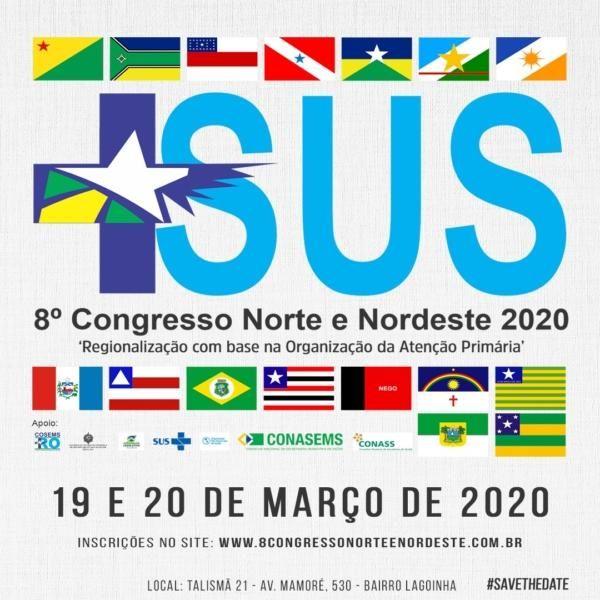 RO sediará 8º Congresso Norte e Nordeste de gestores da saúde
