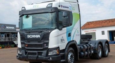 Scania testa no Nordeste modelo de caminhão movido a gás