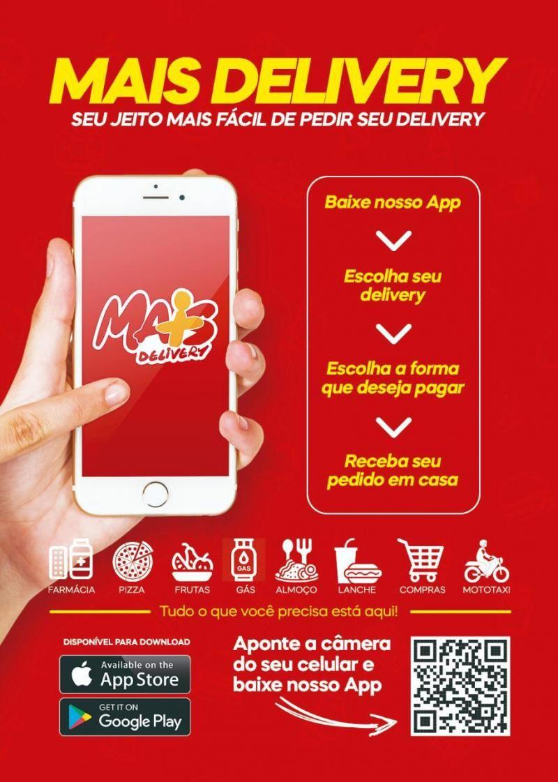 Tecnologia: Chega à Rolim de Moura, o aplicativo  de entrega de comidas em casa