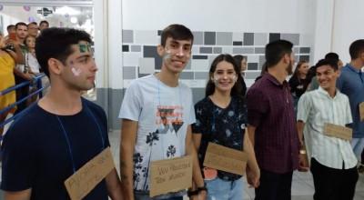 Turma de Direito da FSP realizou trote solidário e doou alimentos e produtos de higiene pessoal para casa da Criança