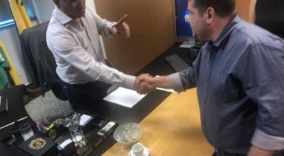 Vice-prefeito Fabricio Melo busca melhorias para educação de Rolim de Moura na capital