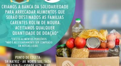 Campanha para arrecadação de alimentos ganha força em Rolim