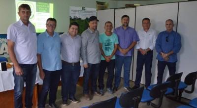 Comitiva da cidade de Mato Grosso visita Rolim de Moura para conhecer projetos implantados pela Semagri