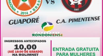 Homenagem: Guaporé Futebol Clube não cobrará ingresso das mulheres no próximo domingo