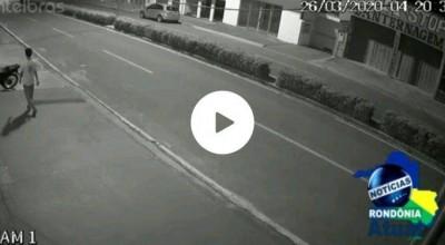 """Ji-Paraná – Ladrão """"Liso igual quiabo"""". E motocicleta de padeiro recuperada"""