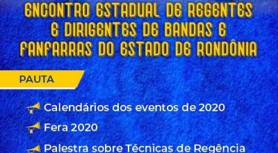 Rolim sedia encontro de lideranças de Bandas e Fanfarras de Rondônia