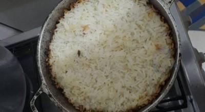 Covardia: Em Ji-Paraná, esposa esquece arroz no fogo, e apanha do marido até os dentes ficarem soltos na boca